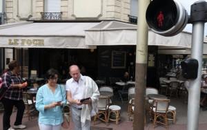 Le Parisien : «à Saint-Maur, votre smartphone vous autorise à traverser»