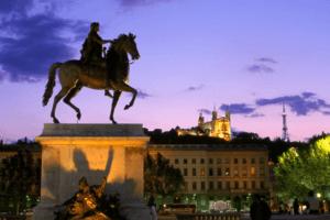 ville de Lyon feux sonores