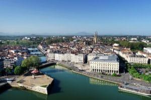 Pont Saint-Esprit Bayonne, accessibilité de la ville