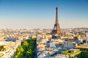 Vue de la ville de Paris
