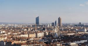 ville de Lyon France